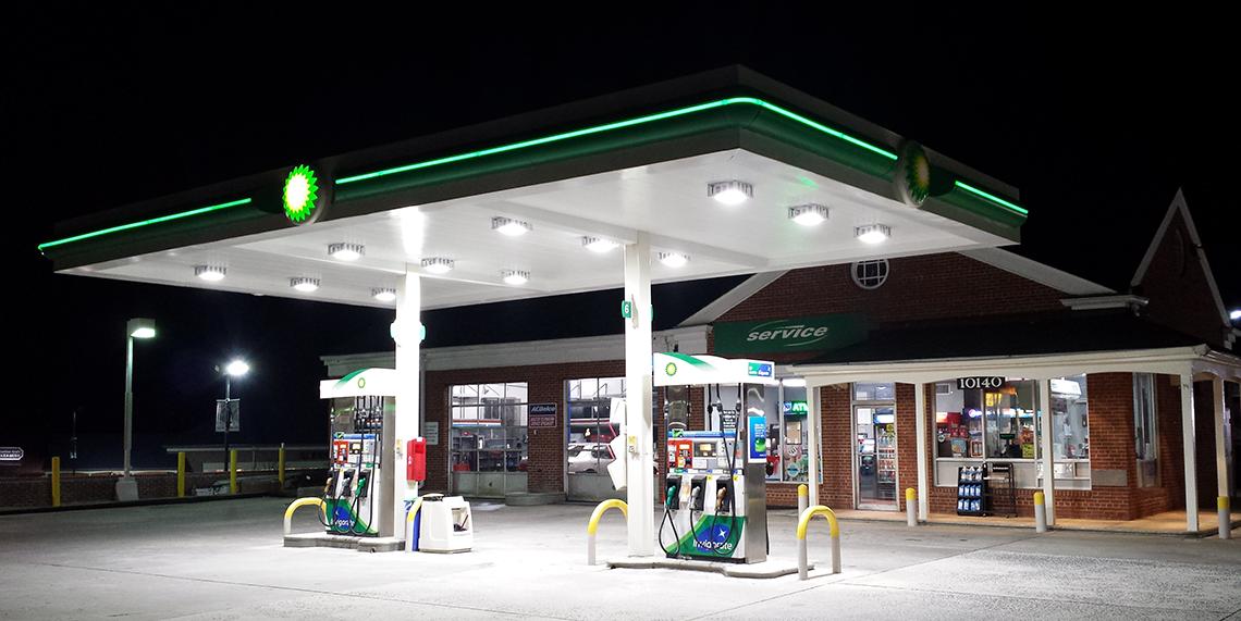 BP Gas Station in Potomac – CS KOIDA LLC