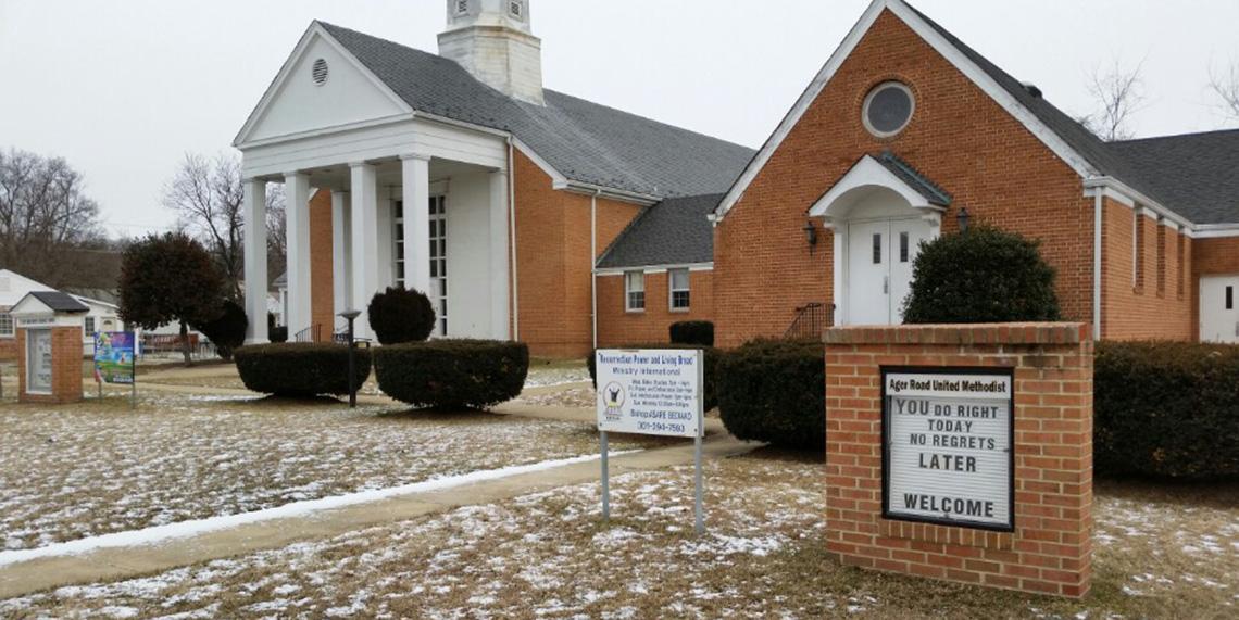 Ager Road United Methodist Church in Hyattsville 2