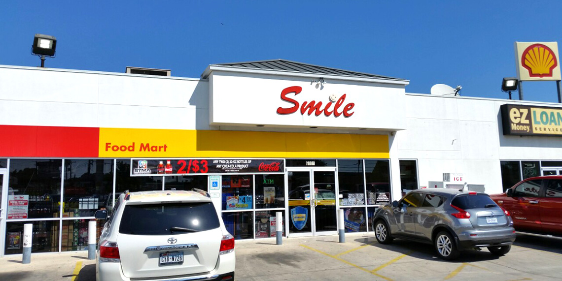Shell Gas Station Smile Food 3