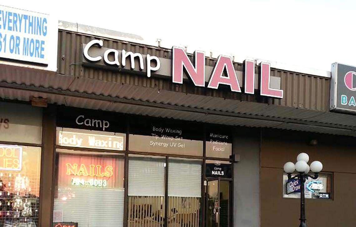 Camp nail 2