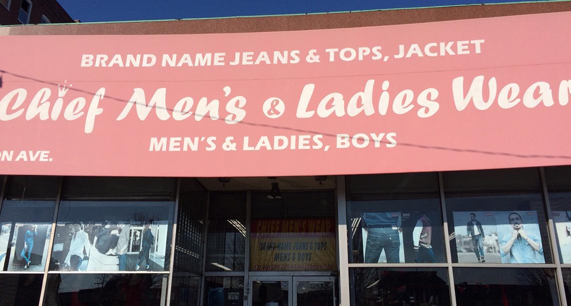 Chief Men's & Ladies Wear 2