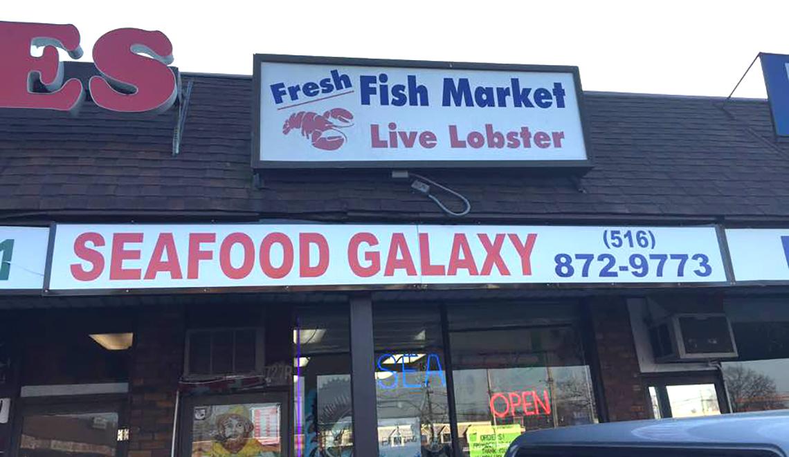 Seafood fish market 2