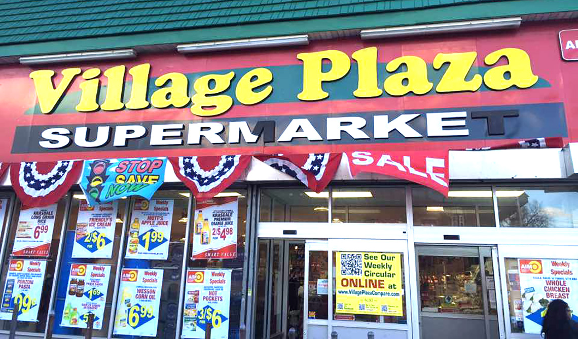 village plaza supermarket 1
