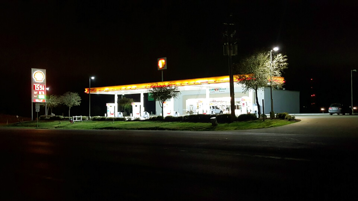 Shell gas 1