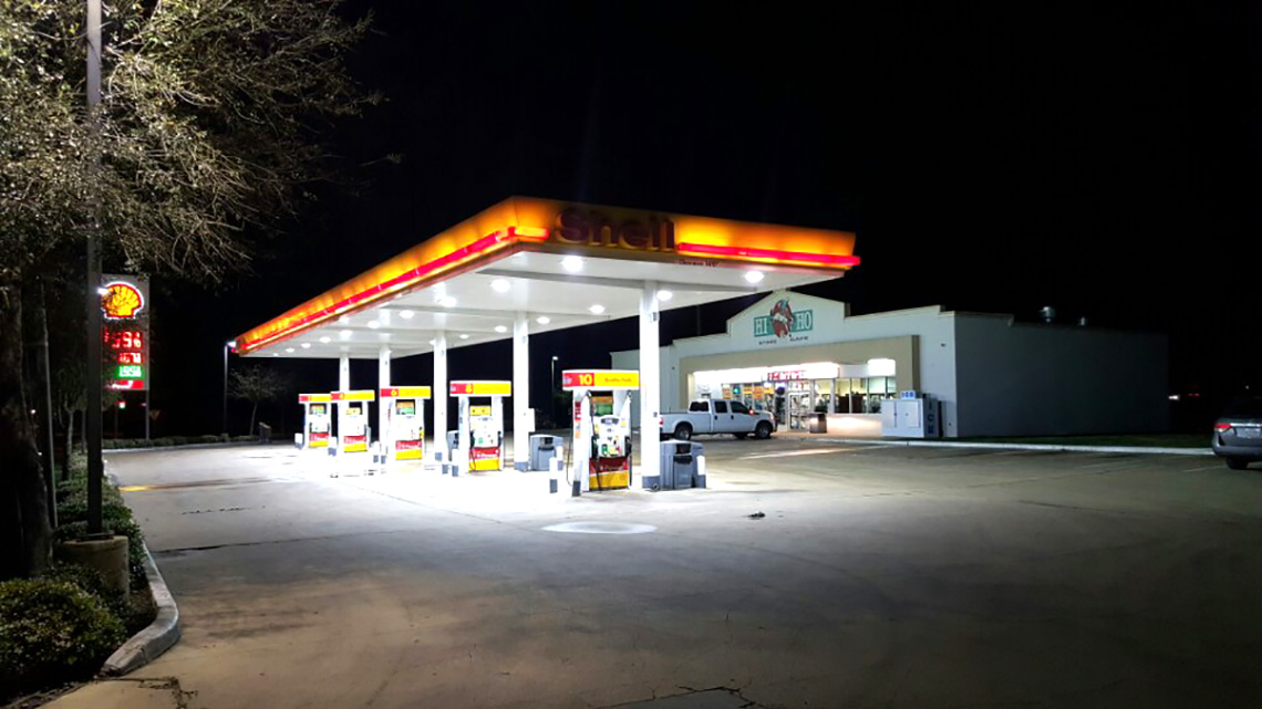 Shell gas 3