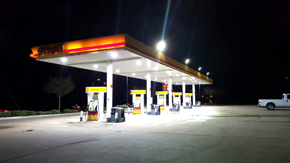 Shell gas 4