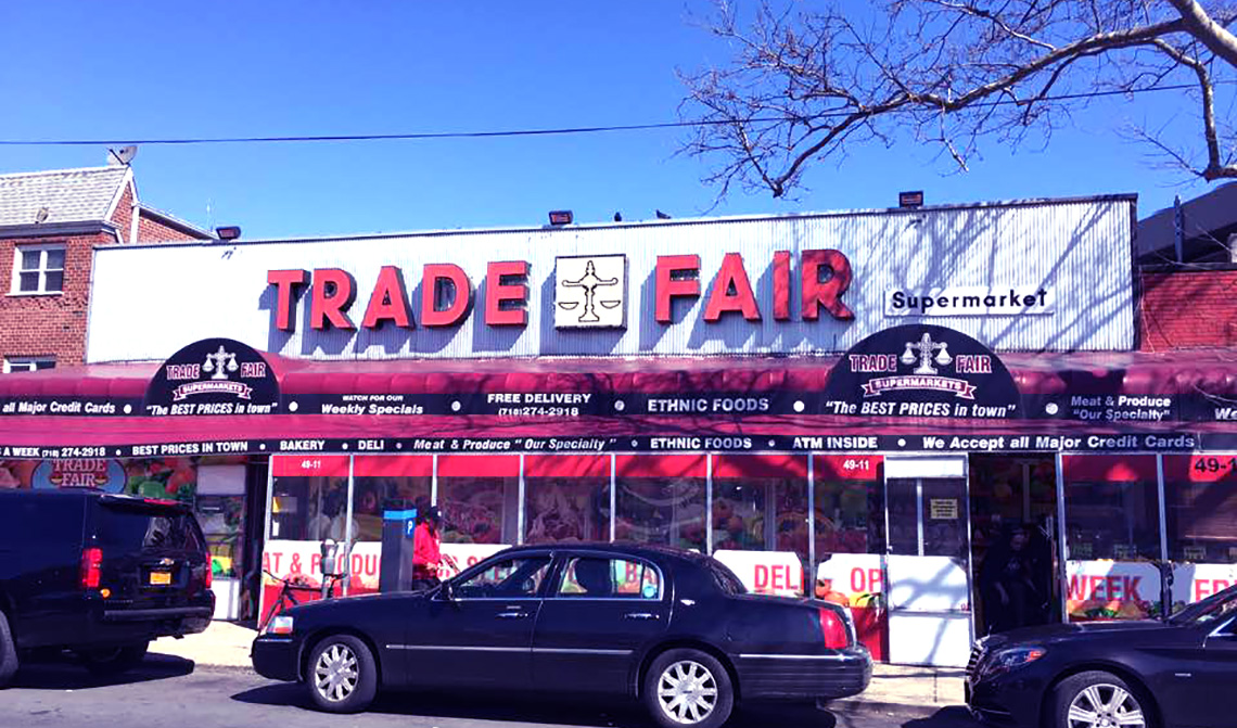 Trade Fair Supermarket In Queens Cs Koida Llc