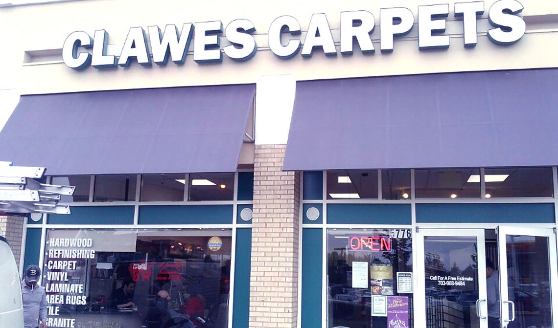 Clawes carpets Inc 1